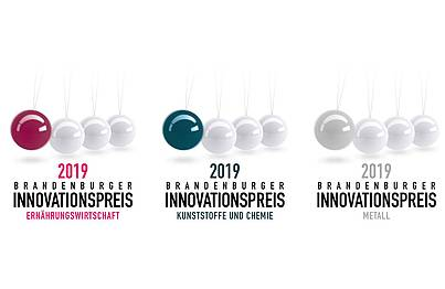 Logos Innovationspreise Brandenburg
