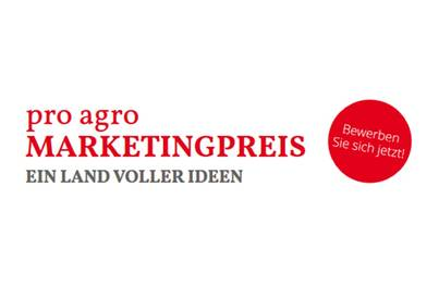 Logo pro agro Marketingpreis 2021