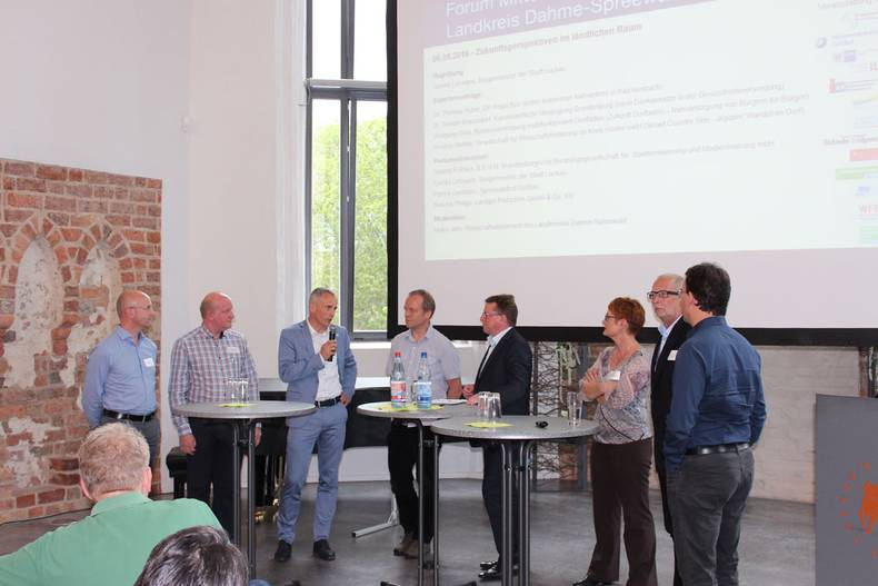 """Forum Mittelstand LDS"" am 06.06.2019 in der Kulturkirche Luckau"