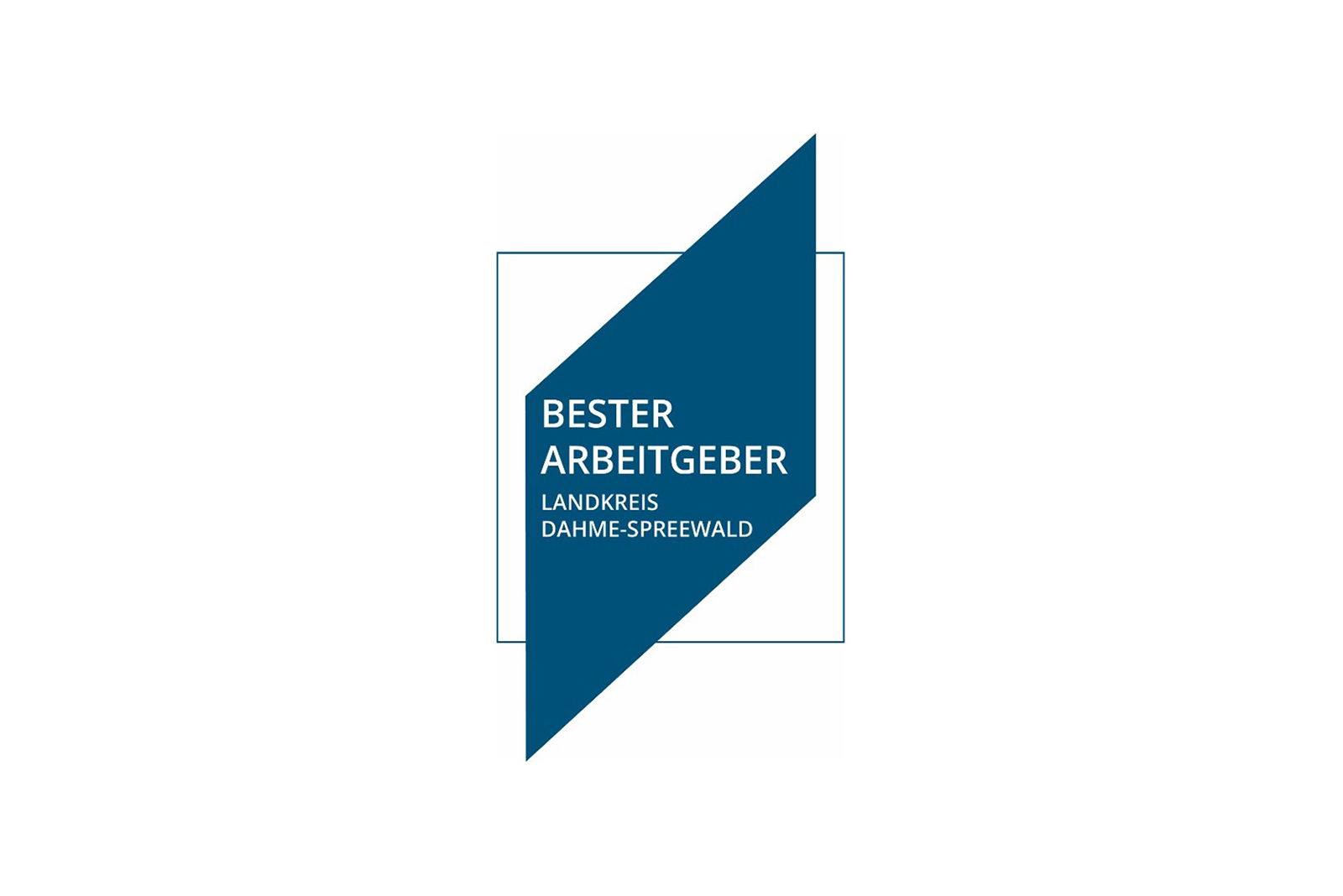 "Logo ""Best Employer in the Dahme-Spreewald District"""